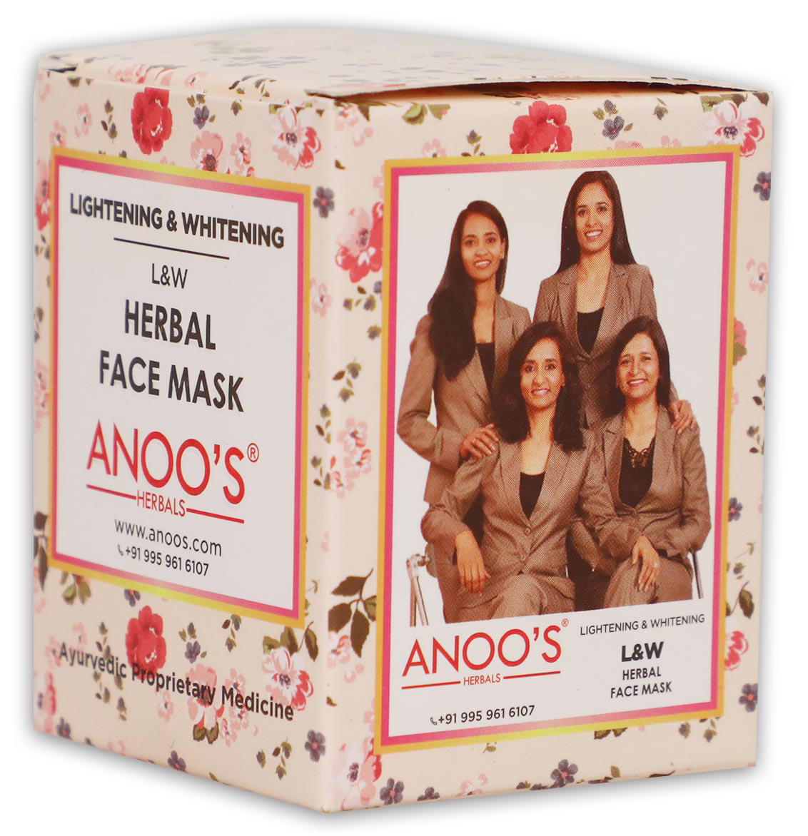 Anoos Lightening Whitening (L &W) Herbal Face Mask