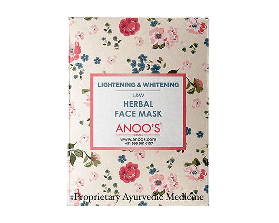 Anoos Lightening Whitening (L &W) Herbal Face Mask